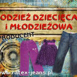 Odzież dziecięca i młodzieżowa - PRODUCENT LUBLIN