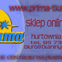 PRIMA HURTOWNIA TKANIN SKLEP ONLINE 24h