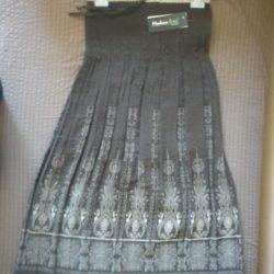 Brązowa spódnica Modern Line